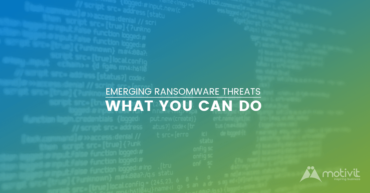 ransomware threats