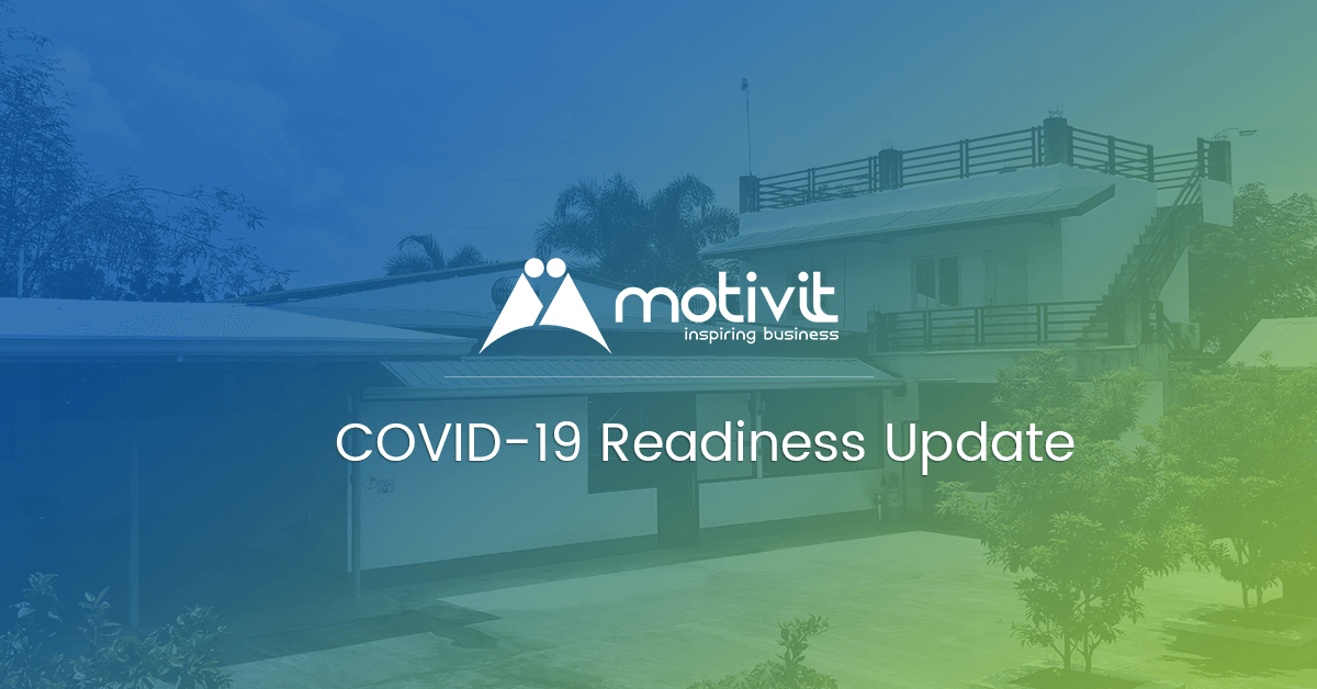 motivit covid-19 readiness update